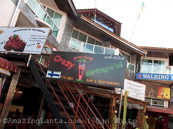 Walking Street. Ao Nang. Krabi. Thailand.