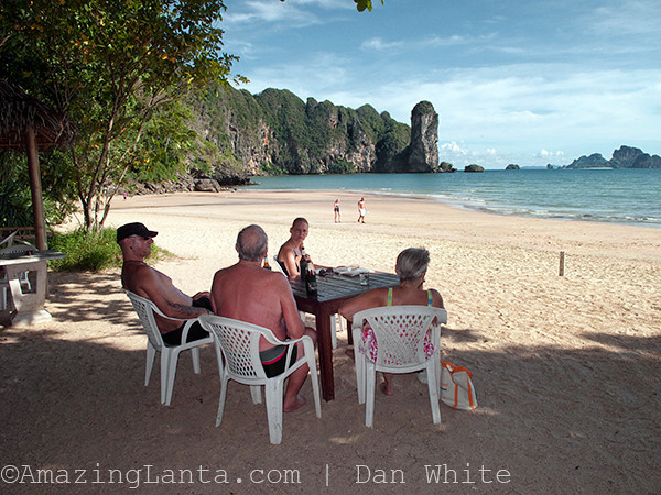 On the beach, Ao Nang, Krabi, Thailand