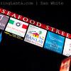 Seafood Street.  Ao Nang. Krabi. Thailand.