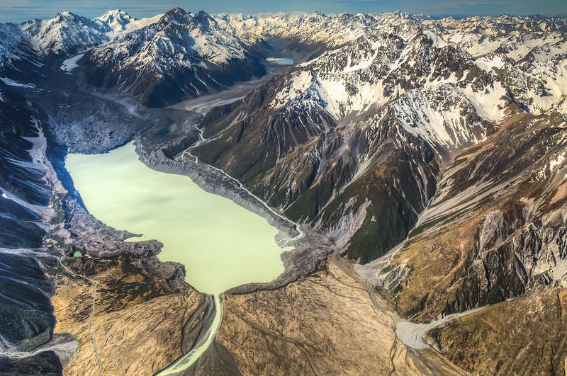 Tasman Glacier and Lake