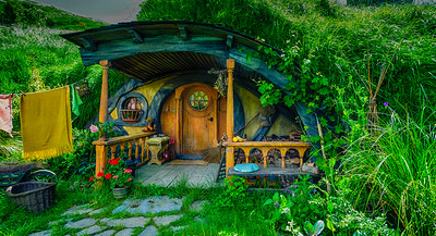 Welcome Home Hobbiton Movie Set Matamata New Zealand
