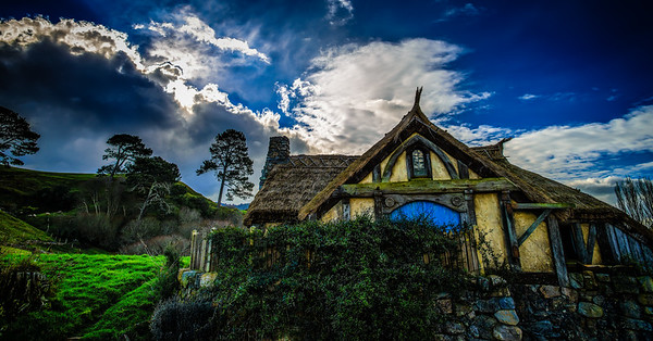 The Mill Hobbiton Movie Set Matamata New Zealand