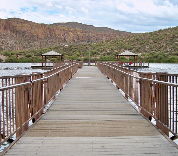Boulder Creek Pier by Canyon Lake (2009)