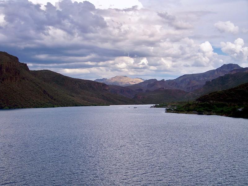 Summer monsoon at Canyon Lake (2009)