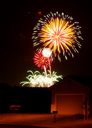 Apache Junction 4th of July Fireworks