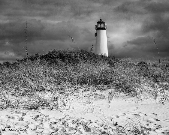 St George Isl Lighthouse in IR