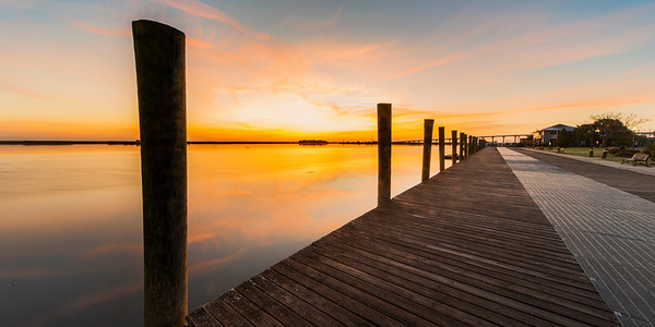 Apalachicola Sunrise from the Boardwalk