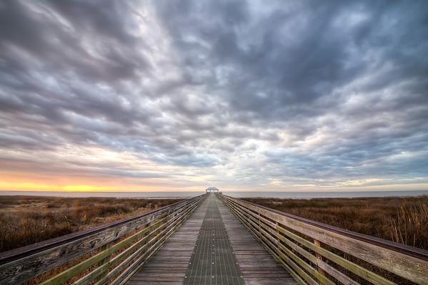 Apalachicola Morning Sky