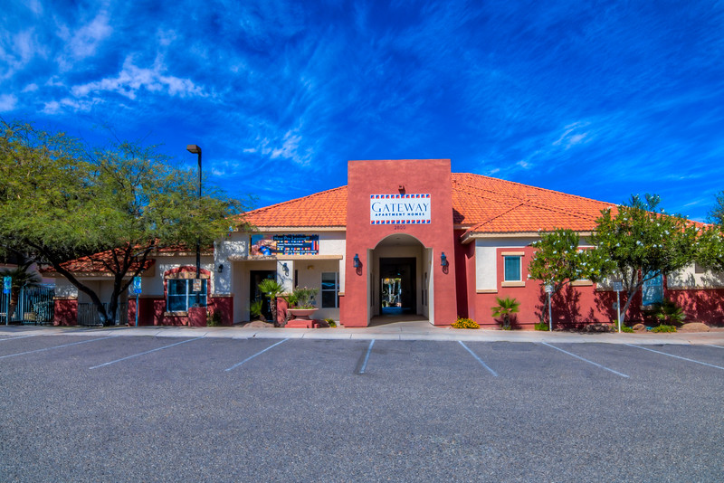 To Learn more about these apartments for rent at 2800 W. Broadway Blvd., Tucson, AZ 85745  contact Gateway at Tucson at: (520) 623-6600