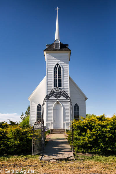 Little Shasta Church was built in 1878.  My partner Mike Karle told me his parents live about a mile from the church.