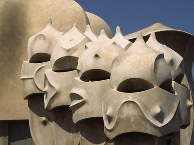 Gaudi detail, Casa la Pedrera