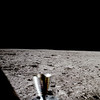First Photo After Moon Landing