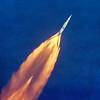 Apollo 11 Launch - High Altitude View Color
