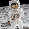 Buzz Aldrin Closeup