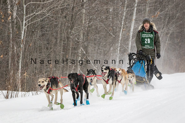 Apostle Islands Sled Dog Race 2018