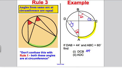 Circle Theorems GCSE Maths Higher PART 2