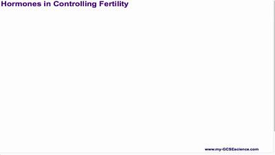 Hormones in Controlling Fertility