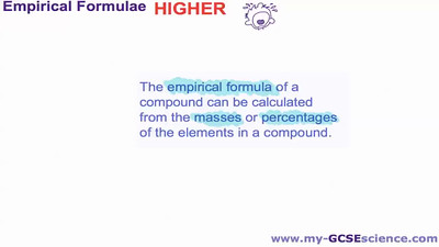 How to calculate the Empirical Formula