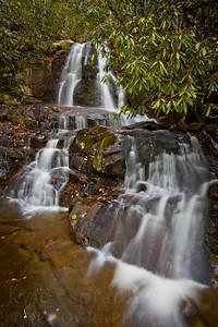 Laurel Falls in Great Smoky National Park in Tennessee.   © Kyle Spradley Photography | www.kspradleyphoto.com