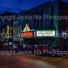 Capitol Theater in Bowling Green at night
