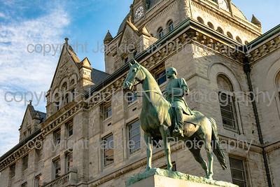 General John H. Morgan statue
