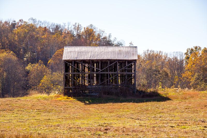 Tobacco Barn Fall