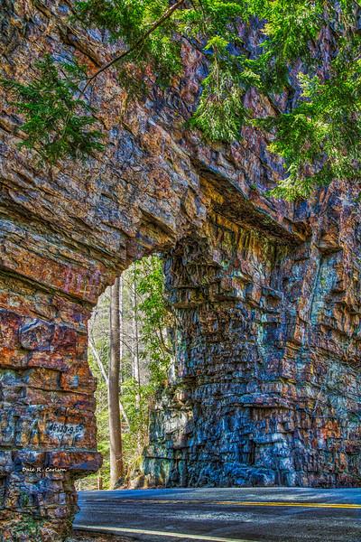 Backbone Rock Tunnel