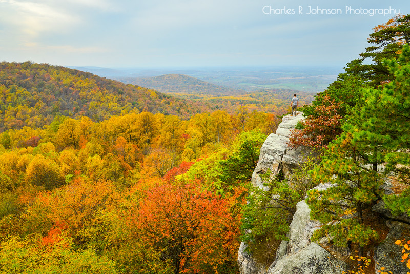 Autumn View from Crescent Rock