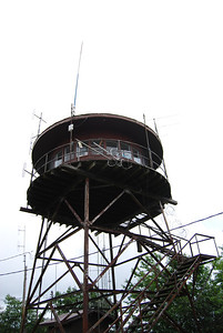 Camp Creek Bald firetower