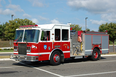 Atlantic City International Airport Engine 24-1, a 2007 KME Predator 1500 / 1000.  Photo by Chris Tompkins