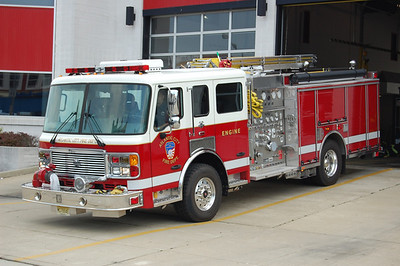Atlantic City Engine 2, a 2007 American LaFrance 1250 / 1000.  Photo by Chris Tompkins