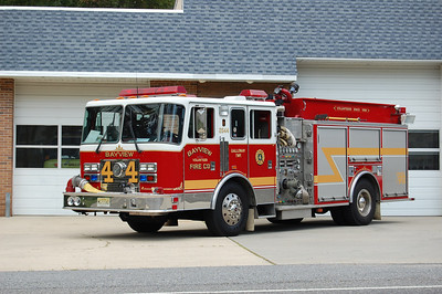 Bayview Fire Co. of Galloway Twp. Engine 26-44 1995 KME Renegade 1500-750 Photo by Chris Tompkins