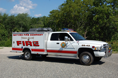 Bayview Utility 26-43 1999 Dodge Ram - Swab  Ex. Mutual Aid Emergency Service. Photo by Chris Tompkins