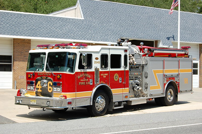 Bayview Fire Co. of Galloway Twp. Engine 26-46 2002 KME XL 2000-1000-25 Photo by Chris Tompkins