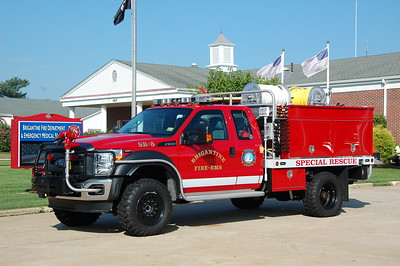 Brigantie SR8 2015 Ford F550-Firematic 100-250-10A  Photo by Chris Tompkins