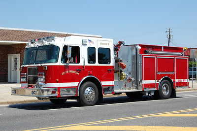 Brigantine Engine 2, a 2005 Spartan Diamond 1750 / 1000.  Photo by Chris Tompkins