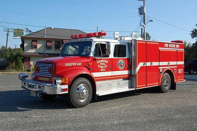 Cardiff Fire Co. of Egg Harbor TwpRescue 1517 1992 International - Gurmman Photo by Chris Tompkins