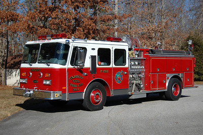 Cardiff Engine 1514 1990 E-One Cyclone 1500-1000 Photo by Chris Tompkins