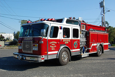Cardiff Fire Co. of Egg Harbor TwpEngine 1516 1995 E-One Cyclone 1500-1000 Photo by Chris Tompkins