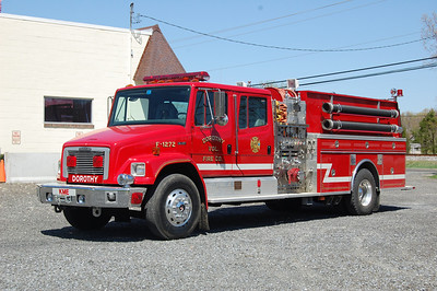 Dorothy Fire Co. Rescue Pumper 1272 1994 Freightliner - Kme 1200 tank 1250gpm Photo by Chris Tompkins