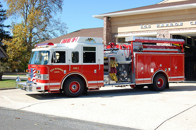 Egg Harbor City Engine 10-1, a 2005 Pierce Dash 2000 / 1000 / 50 foam. Photo by Chris Tompkins