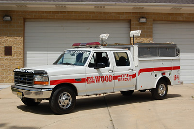 Elwood Rescue 16-4 1997 Ford F350 Reading Photo by Chris Tompkins