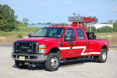 Farmington Fire Co. in Egg Harbor Twp. Utility 15-40, a 2008 Ford F-350 / Lee 150 / 200 / 10 foam.  Photo by Chris Tompkins