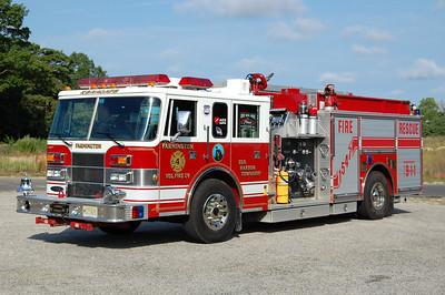 Farmington Fire Co. of Egg Harbor Twp Engine 15-47 1996 Pierce Saber 1500-750 Photo by Chris Tompkins