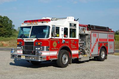 Farmington Fire Co. of Egg Harbor TwpEngine 15-43 2002 Pierce Saber 1500-1000 Photo by Chris Tompkins