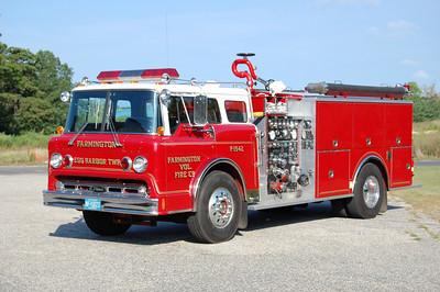 Farmington Fire Co. of Egg Harbor TwpEngine 15-42 1985 Ford 8000 - Pierce  1250-1000 Photo by Chris Tompkins