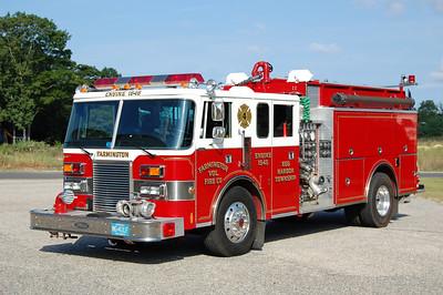 Farmington Fire Co. of Egg Harbor Twp Engine 15-45 1991 Pierce Lance 2000-500 Photo by Chris Tompkins