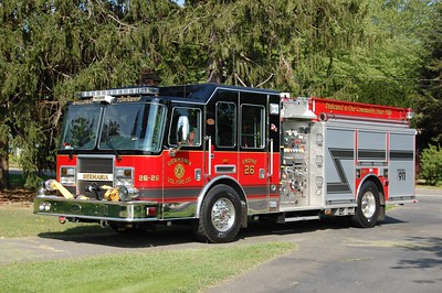 Germania Fire Co. Station 2 in Galloway Twp. Engine 26-26, a 2007 KME Predator 1500 / 1000.  Photo by Chris Tompkins