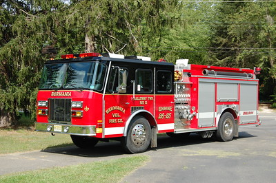 Germania Fire Co. Station 2 in Galloway Twp. Engine 26-25 1994 EOne protector series 1500-1000 Photo by Chris Tompkins