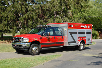 Germania Fire Co. Station 2 in Galloway Twp. Rescue 26-28 2004 Ford 550 Pl Custom Photo by Chris Tompkins